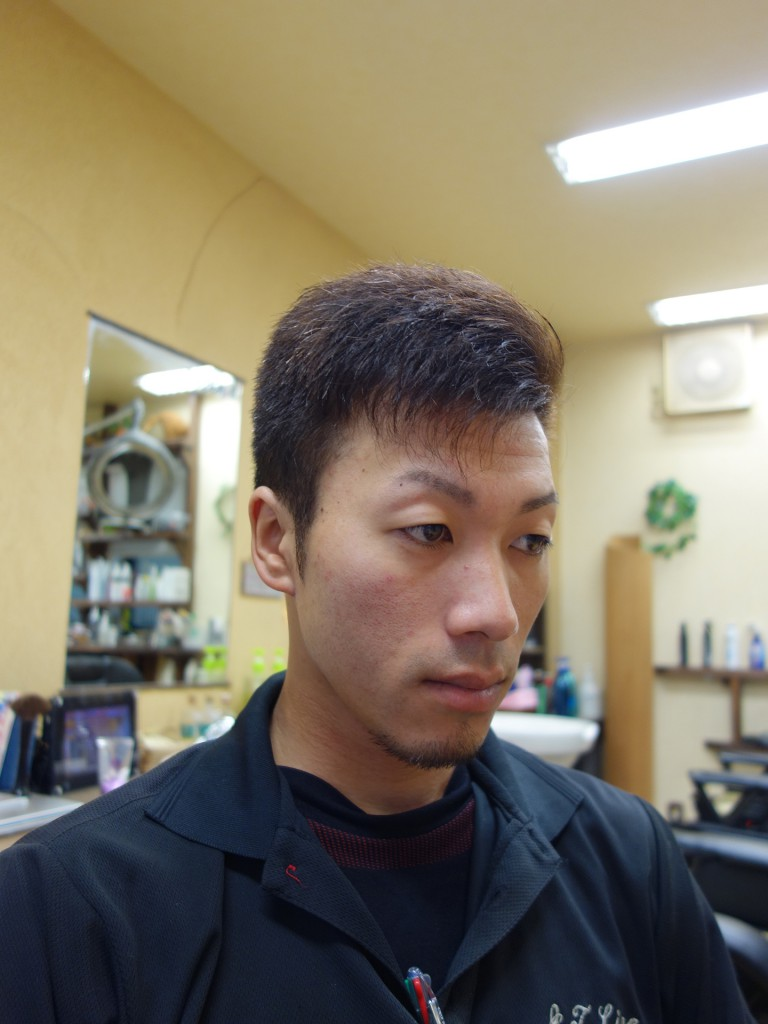 おしゃれ七三 ネオ七三 震災刈り シンサイカット - ヘアカタログ-02-01