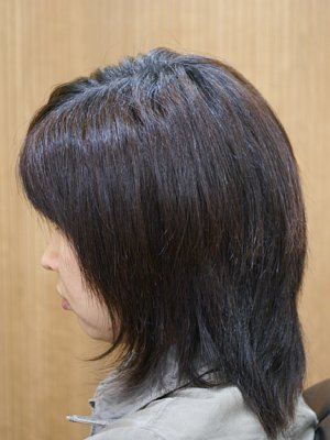 縮毛矯正アルピュール-befor