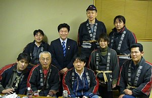 橋本岳先生と記念写真・・