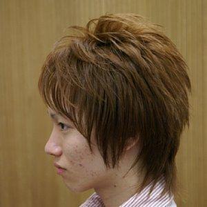 タッキーの髪型