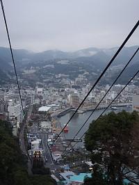錦ヶ浦山頂から